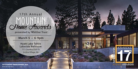 17th Annual Mountain Home Awards tickets