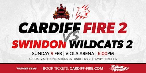 Cardiff Fire 2 vs Swindon Wildcats 2
