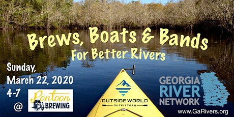 Brews, Boats & Bands for Better Rivers tickets