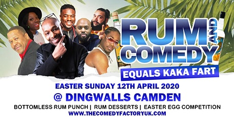 Rum and Comedy Easter Show tickets