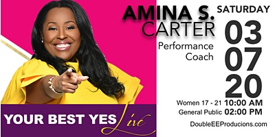 The Love Experience presents Amina Carter and Your Best Yes