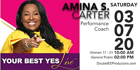 The Love Experience presents Amina Carter and Your Best Yes tickets