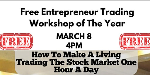 How to Make a Living Trading the Stock Market in One Day