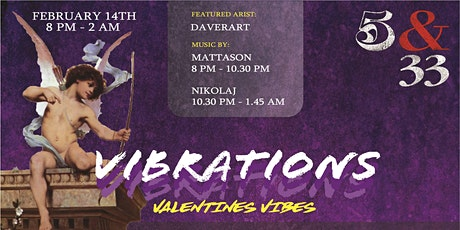 Vibrations 'Valentine Vibes'   Art Showcase tickets