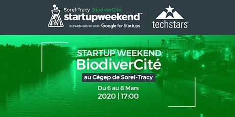 Startup Weekend Sorel-Tracy 2020 - BiodiverCité billets