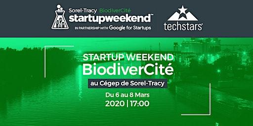 Startup Weekend Sorel-Tracy 2020 - BiodiverCité