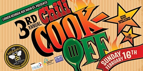 3rd Annual Chili Cook-Off tickets