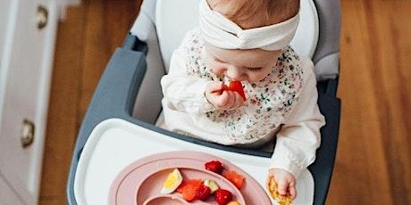 Atelier de diversification alimentaire menée par l'enfant (DME) billets