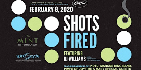 Spin Cycle Presents:  DJ Williams'  Shots Fired tickets