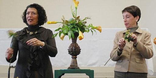 Floral Design Lecture & Demonstration with Elaine DiGiovani and Linda Ladd