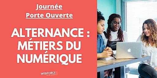 PARIS - Alternance & Numérique : Journée Porte Ouverte à l'école WebForce3