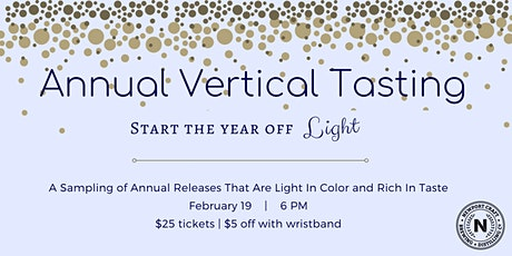 Annual Vertical Tasting tickets