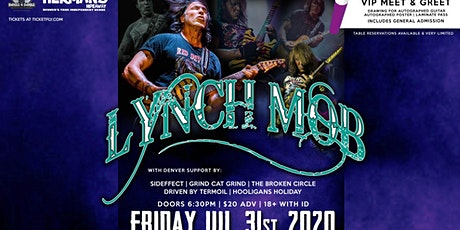 Lynch Mob Returns to Denver tickets
