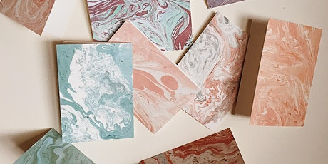 Marbled Paper Stationery Workshop at DOMAIN  tickets