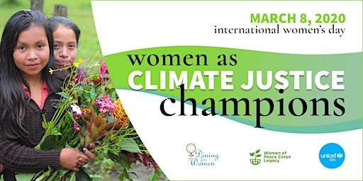 Women as Climate Justice Champions: International Women's Day 2020