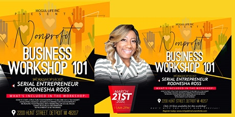 Powered by Mogul Life inc: Nonprofit Business Workshop 101 tickets