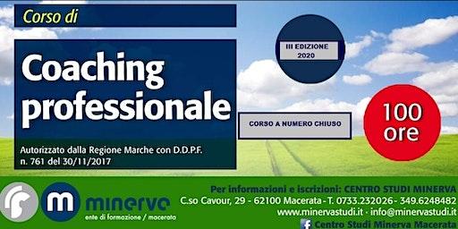 Evento gratuito - Pillole di coaching - Presentazione III edizione
