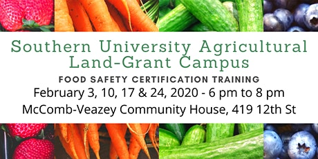 Food Safety Certification Training tickets