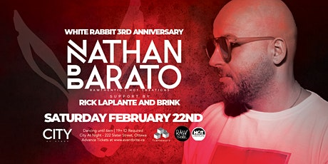 Nathan Barato at White Rabbit 3rd Anniversary - Dancing 11pm to 6am tickets