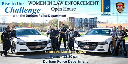 Durham Police Department's Women in Law Enforcement Open House