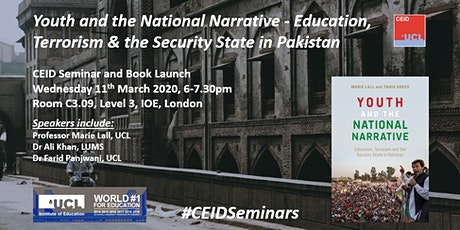 CEID Seminar & Book Launch: Youth and the National Narrative in Pakistan tickets