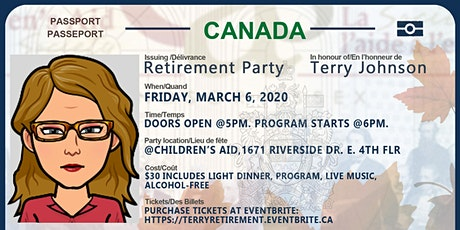Terry Johnson's Retirement Party tickets