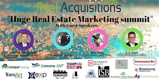 """Huge Real Estate Marketing summit""-2020"