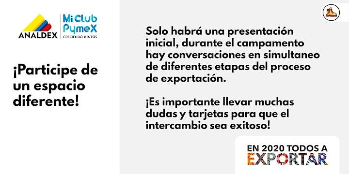 Imagen de Campamento exportador - Mi Club Pymex en Medellín