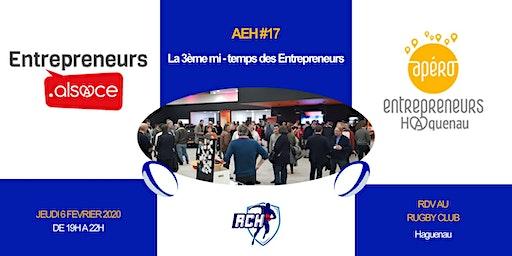 Apéro Entrepreneurs Haguenau #17 – La 3ème mi-temps des entrepreneurs