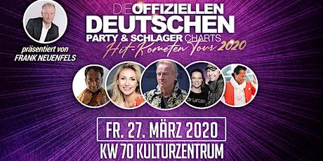 Die offiziellen Deutschen Party & Schlager Charts - Hit Kometen Tour 2020 Tickets