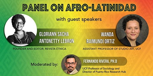 Panel Discussion on Afro-Latinidad