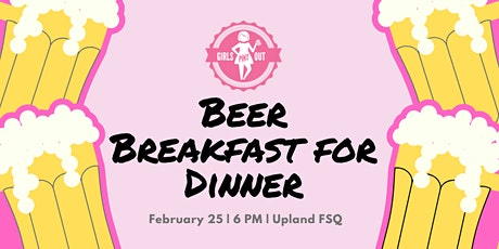 Beer Breakfast for Dinner - SOLD OUT tickets