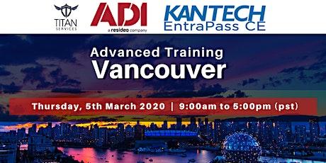 Vancouver Advanced Kantech Training - ADI tickets