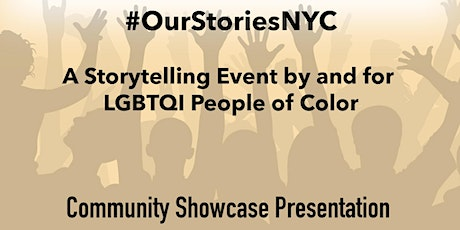 #OurStoriesNYC - African American History Month tickets
