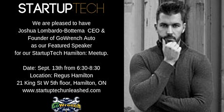 StartupTech Hamilton: Founder Talk Meetup February tickets