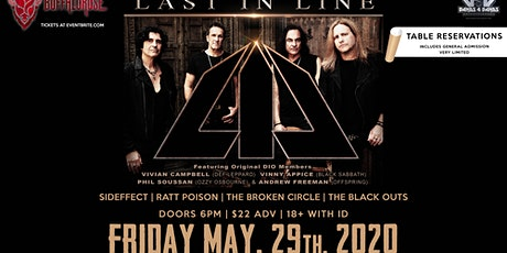LAST IN LINE (Featuring Orginal Members of DIO ) Rescheduled date TBA tickets
