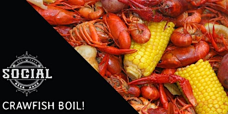 Social Beer Haus and Steam Whistle Crawfish Boil tickets
