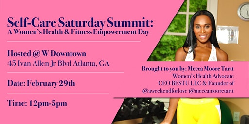 2020 Self-Care Saturday Summit Kick-Off