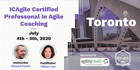 Agile Coach Workshop with ICP-ACC Certification Toronto Jul 4-5 tickets