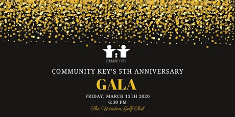 Community Key's 5th Anniversary Gala & Silent Auction tickets