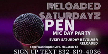 Reloaded Saturdayz Day Party tickets