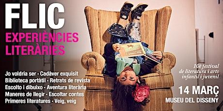 FLIC 10 EXPERIÈNCIES LITERÀRIES entradas