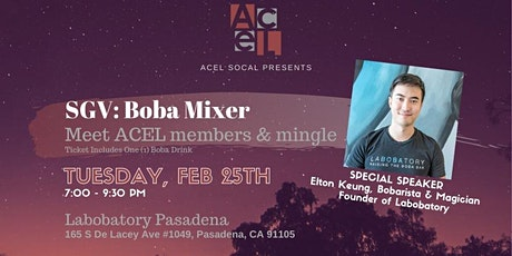 ACEL in SGV: Networking Mixer tickets