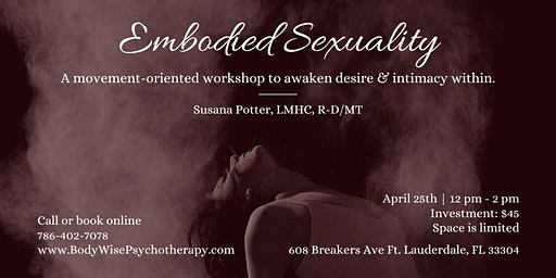 Embodied Sexuality Workshop