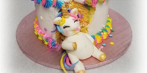 Rumbly-Tumbly Unicorn Cake Decorating