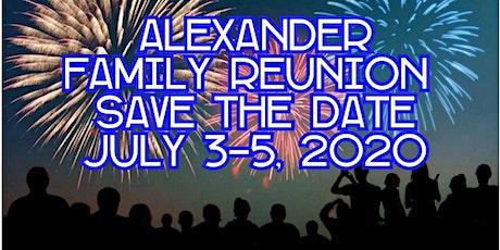 Alexander Family Reunion  tickets
