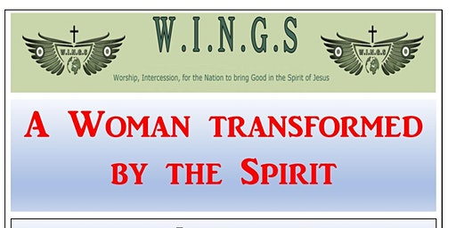 A woman Transformed by the Spirit