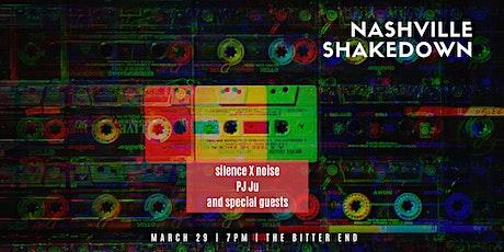 Nashville Shakedown tickets