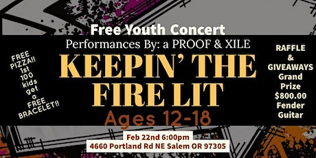 Keepin' The Fire Lit ~ Free Youth Concert tickets
