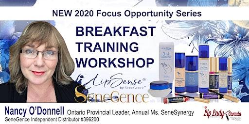 SENEGENCE ONTARIO 2020 BEAUTY VISION LIPSENSE TRAINING WORKSHOP LIP LADY CANADA